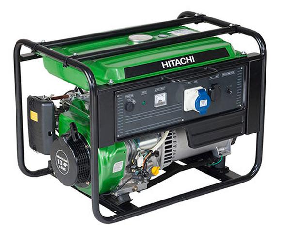 Бензиновый генератор_Hitachi E62MC