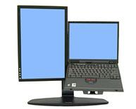 Neo-Flex Lift комбо-стенд для монитора и ноутбука (33-331-085) монитор для ноутбука