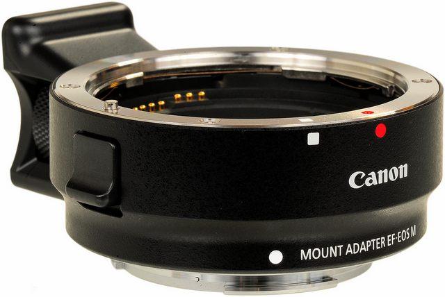 Адаптер Canon Mount Adapter EF-EOS M коврик для йоги с рисунком atemi aym 01 pic