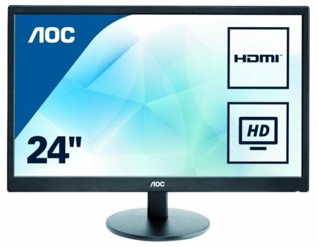 23.6 AOC Pro-line E2475SWJ black монитор aoc i2475pxqu