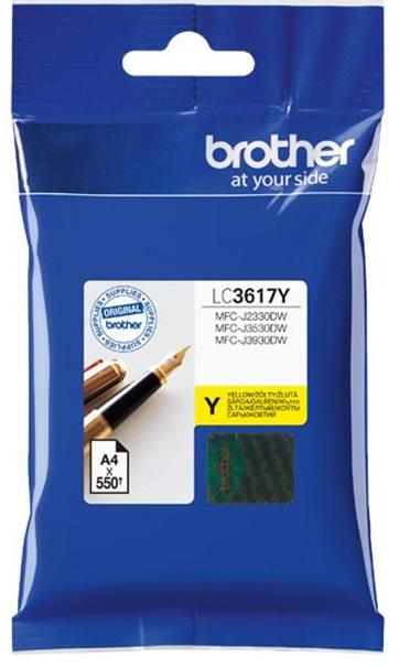Картридж LC3617Y картридж для струйных аппаратов brother lc3617y желтый для mfc j3530dw j3930dw 550стр lc3617y
