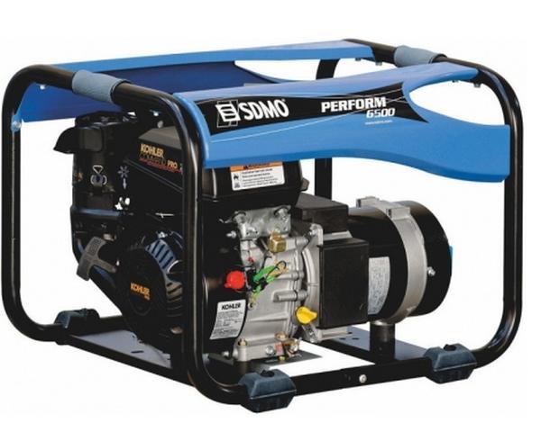 Бензиновый генератор_SDMO Perform 6500