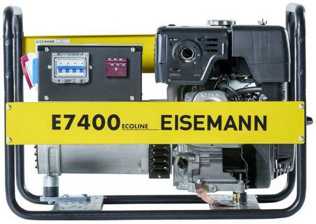 Бензиновый генератор_Eisemann E 7400