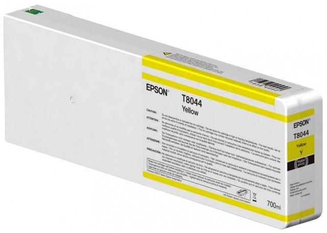 T8044 Yellow 700 мл (C13T804400) принтер epson surecolor sc p9000 std c11ce40301a0