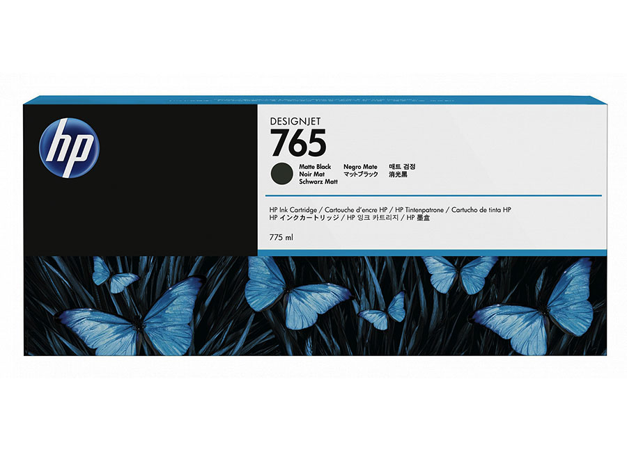 HP 765 DesignJet Matte Black 400 мл (F9J55A) hp designjet t830 36 f9a30a
