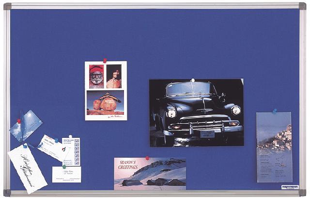 Текстильная доска Magnetoplan 120 x 90 см, синяя (1412003)