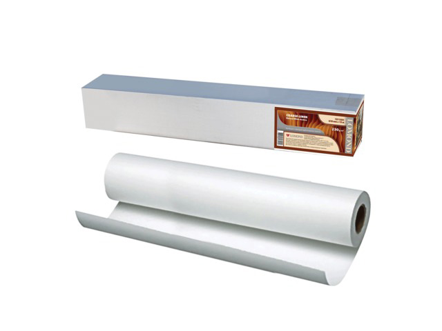 Холст хлопковый матовый с роллом 50.8 мм, 340 г/м2, 1.067x15 м фотобумага lomond xl matt self аdhesive photo paper самоклеящаяся с роллом 50 8 мм 90 г м2 0 610x20 м