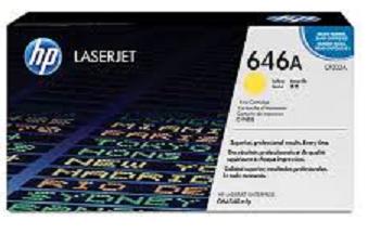 Тонер-картридж HP 646A CF032A картридж для принтера hp 646a cf032a yellow