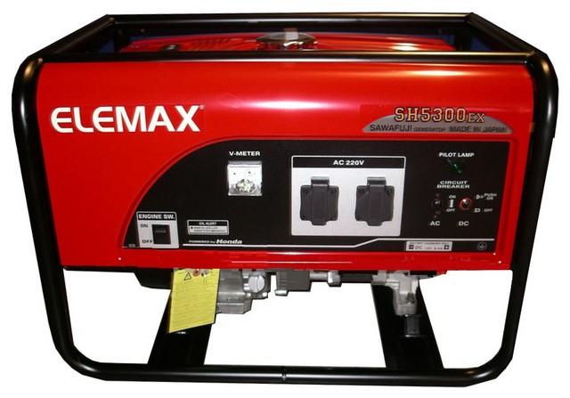 Бензиновый генератор_Elemax SH 5300 EX-R