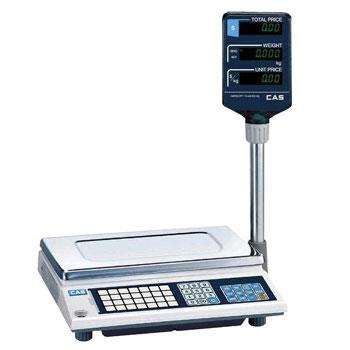 CAS AP-EX-15 с двухсторонним дисплеем и платформой из нержавеющей стали