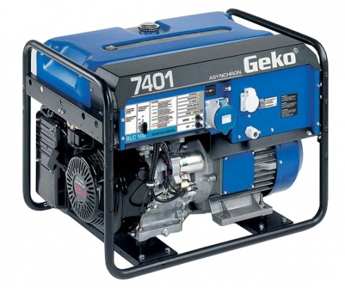 Бензиновый генератор_Geko 7401 E-AA/HEBA BLC