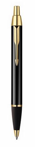 Автоматическая шариковая ручка Parker IM Black GT (S0856440)