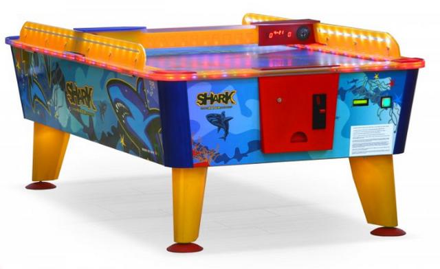 Игровой стол Аэрохоккей Wik Shark (купюроприемник, 8фт)