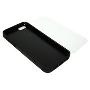 Чехол для  iPhone 5/5S мягкий черный Компания ForOffice 126.000