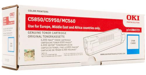 Тонер-картридж TONER-C-C5850/5950-NEU (43865723 / 43865743) тонер картридж toner c c712 neu 46507627