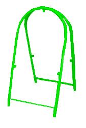 Штендер АР-20 зеленый Компания ForOffice 722.000