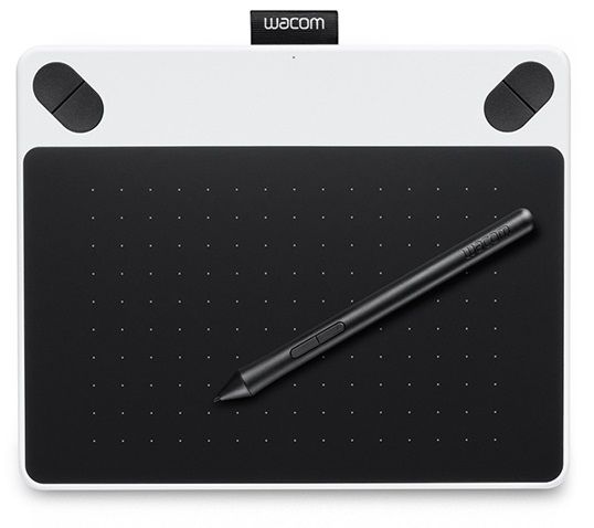 Intuos Draw White Pen S (CTL-490DW-N) от FOROFFICE