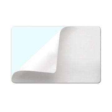 Наклейка самоклеющаяся UltraCard CR-80 белая