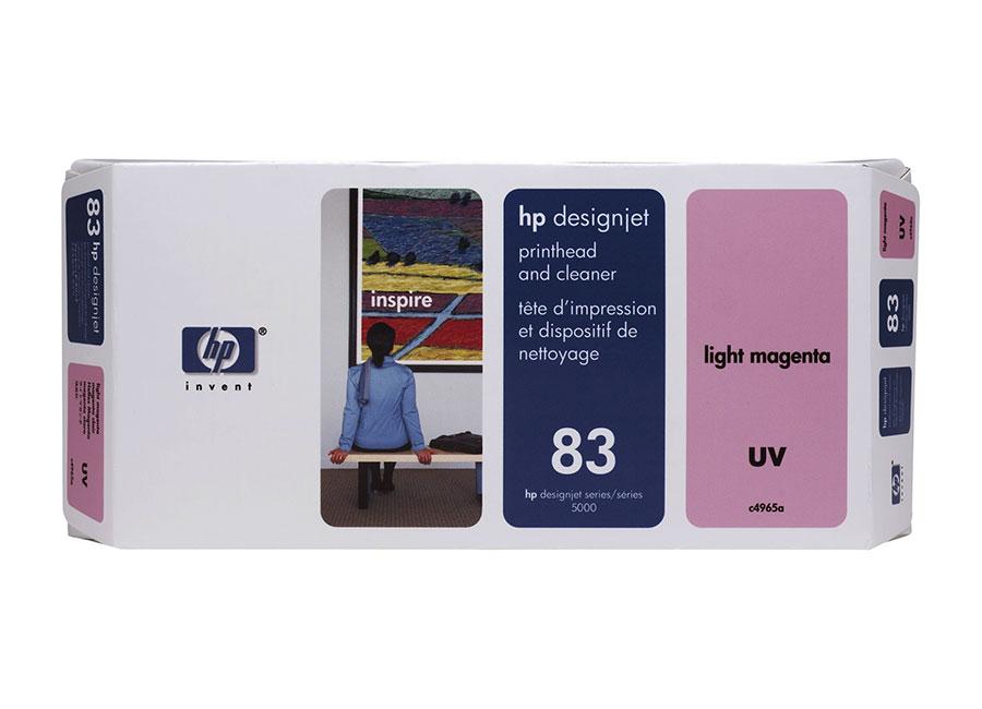Печатающая головка и чистящая станция HP №83 Light Magenta (C4965A) replacement printer paper pick up roller for hp 5000