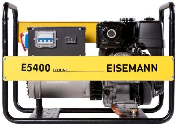 Бензиновый генератор_Eisemann E 5400