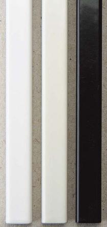 Фото Металлические каналы O.Simple Channel А4 297 мм 13 мм, черные
