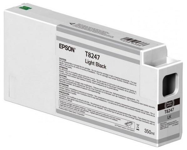 T8247 Light Black 350 мл (C13T824700) принтер epson surecolor sc p9000 std c11ce40301a0