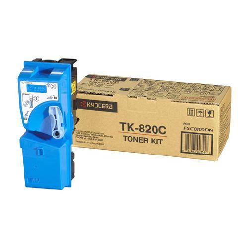 Kyocera Тонер-картридж TK-820C (1T02HPCEU0)