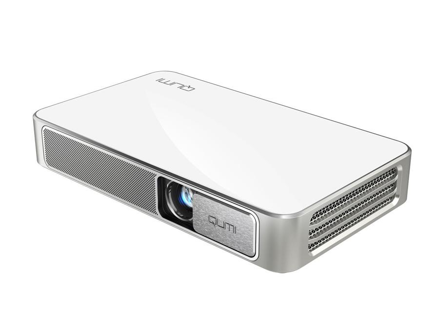 Vivitek Qumi Q3 Plus-WH vivitek qumi q3plus офис проектор телефон внутренней батареи 500 лм миниатюрный портативный проектор