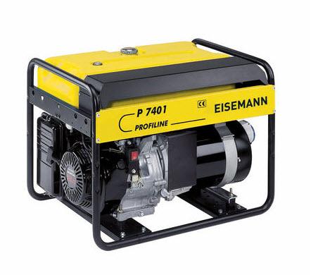 Бензиновый генератор_Eisemann P 7401