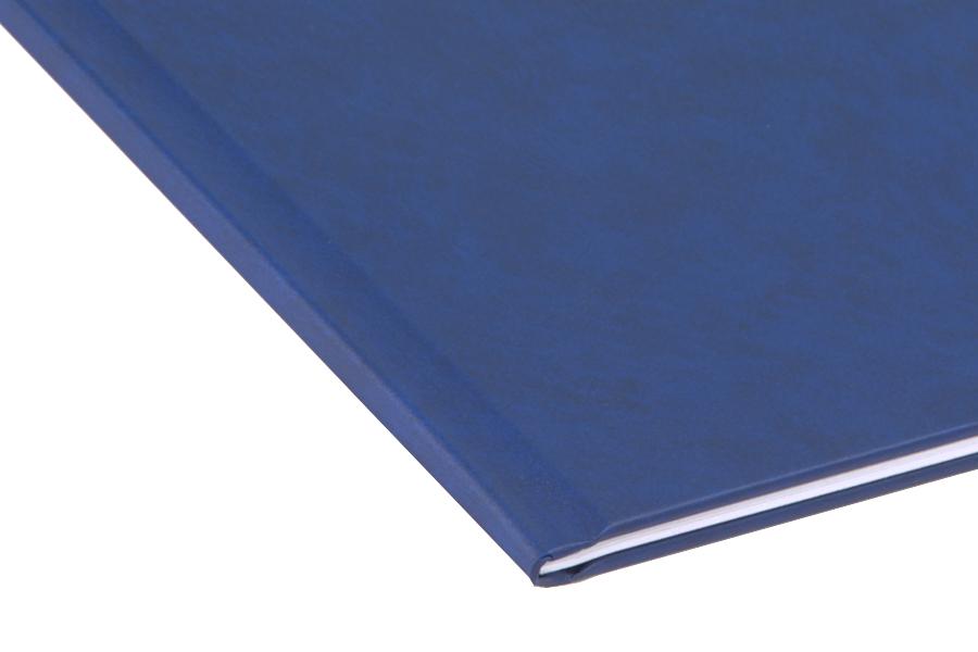 Папка для термопереплета , твердая, 40, синяя папка proff а4 60 карманов синяя