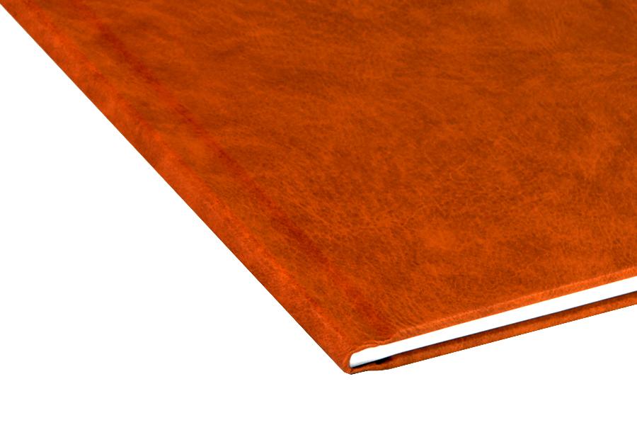 Папка для термопереплета , твердая, 160, оранжевая
