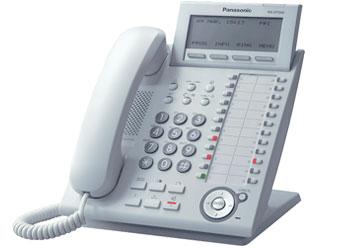 Системный телефон_Panasonic KX-DT343RUW Компания ForOffice 6348.000