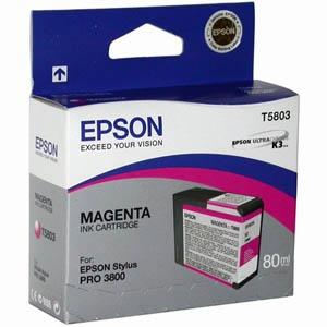 Картридж Epson C13T580300 Magenta