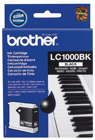 Картридж   LC1000BK тонер картридж brother lc1000bk