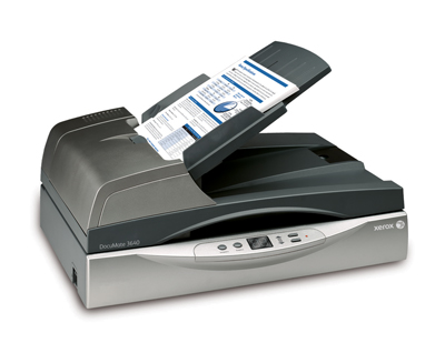 Сканер Xerox DocuMate 3640 Kofax VRS Pro