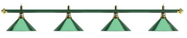 Светильник Allgreen D35 (зеленый, 4 пл.)
