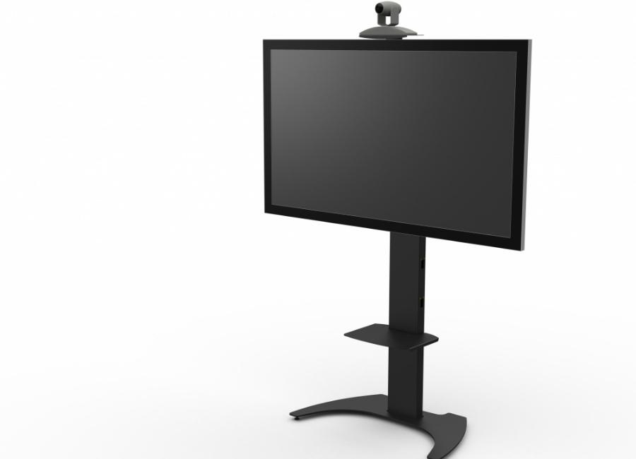 Мобильная стойка для панелей и телевизоров M65 (black) цена и фото