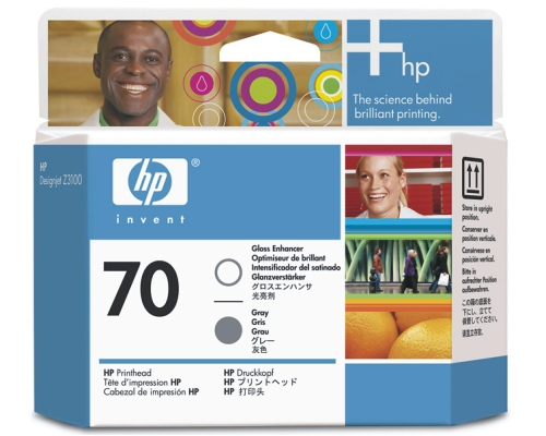 Печатающая головка HP Print Head №70 Gloss Enchanter & Gray (Z3100) (C9410A) картридж hp c9410a для designjet z2100 z3100 ps pro b9100 глянцевый серый 16000sh