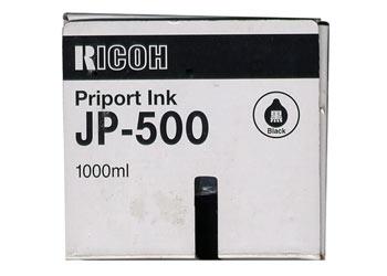 Краска темно-бордовая Ricoh JP-500(CPI-9),1000 мл