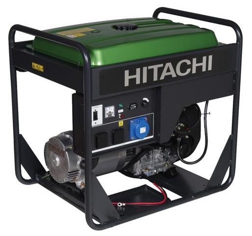Бензиновый генератор_Hitachi E100