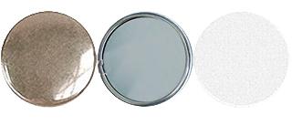 Заготовка для изготовления закатного значка-зеркала Talent 56 мм