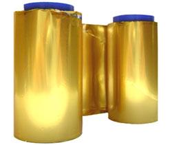 Лента и чистящий валик золотой металлик   45207