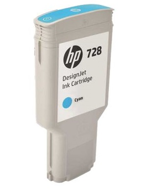 Картридж HP 728 F9K17A (cyan), 300 мл