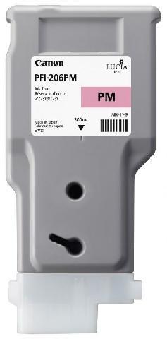 Картридж (PFI-206PM) Photo Magenta картридж magenta pfi 701m пурпурный пигментный