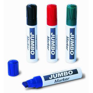 Набор из 4-х разноцветных маркеров Magnetoplan Jumbo для флипчартов, широкий грифель (1111505)