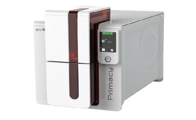 Primacy LCD Duplex Expert evolis primacy duplex expert
