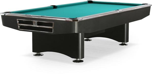 Бильярдный стол_Американский пул Competition (9 футов, матово-чёрный)