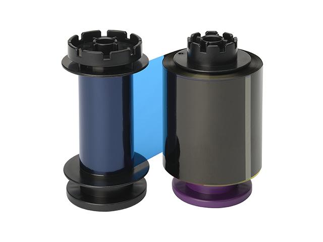 Лента YMCK+K для двусторонней ретрасферной цветной печати, 400 отпечатков RT5F011EAA