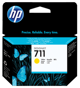 цена на Картридж HP №711 Yellow (CZ136A)