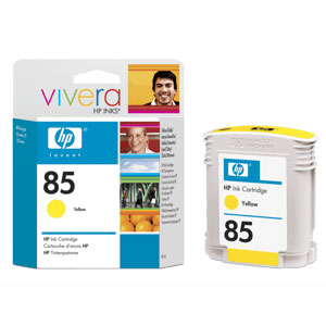 Картридж HP Inkjet Cartridge №85 Yellow (C9427A) картридж hp inkjet cartridge 90 black c5058a